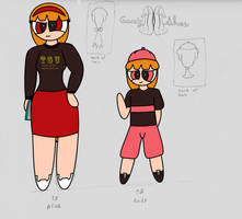 Alice and Andy Bios by Goody-II-Shoes
