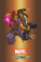 Gouki VS Wolverine COLORED by G-David