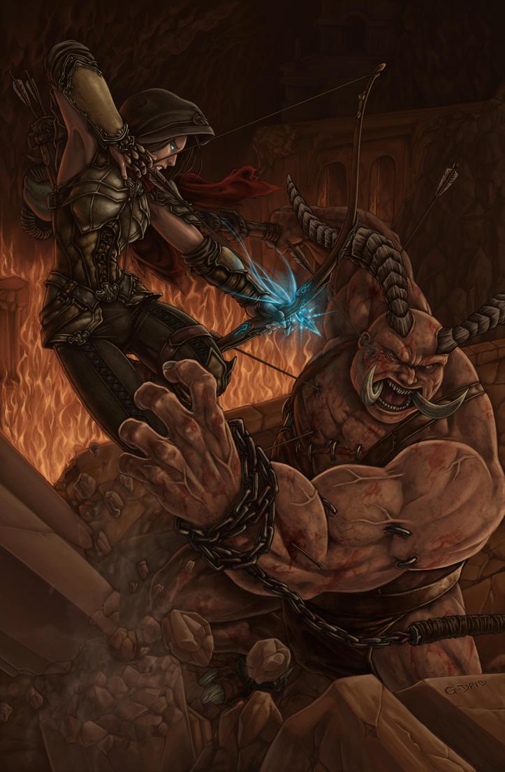 Diablo III Fan Art Contest by G-David