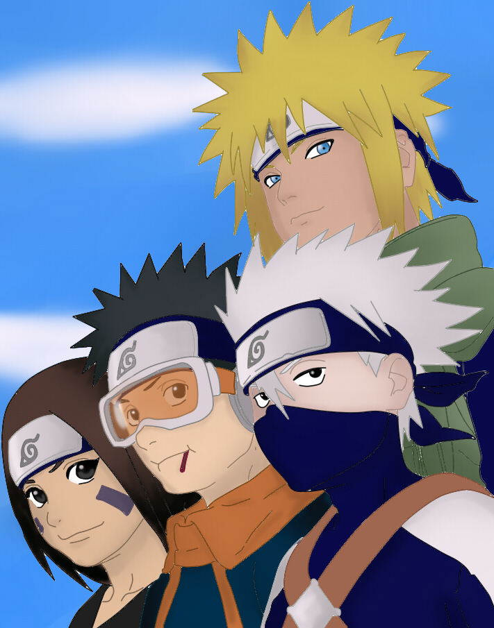 team 7 meet minato and