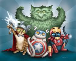 cat avengers by ILOVECATS12953