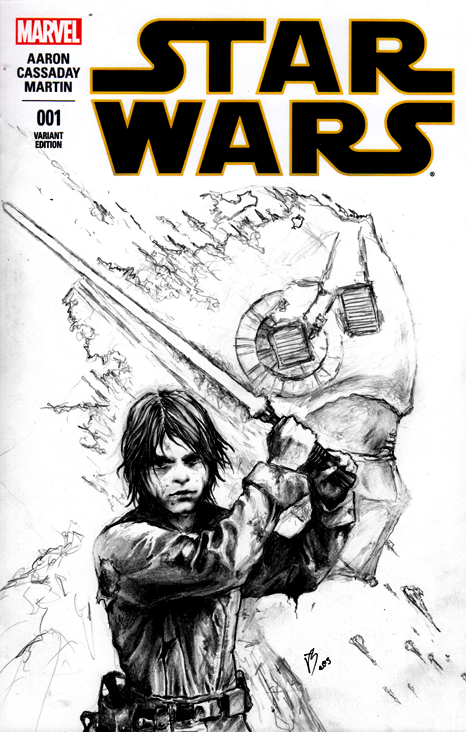 Starwars Cover issue 001 alternative by Karbonk