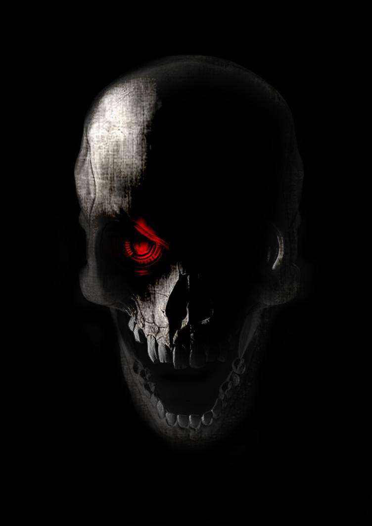 Cast Iron Cranium by Someonecalledmgee