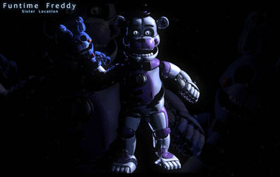 Funtime Freddy | Accurate Lighting Test by Ragnadeon