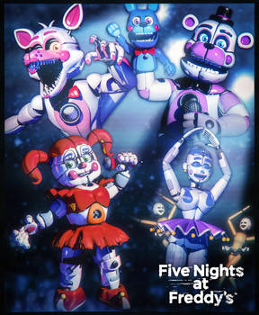 The Funtimes! | Sister Location Poster + Release by Ragnadeon