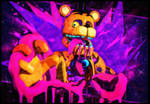 COME TO THE FUN! [FNAF/C4D/PHOTOSHOP]