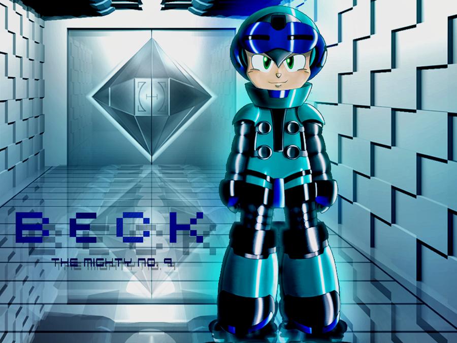 Beck - Mighty No 9 (Rockman Style) ~Color~ by Ekkusu-sama