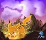 Red's Pikachu by Ekkusu-sama
