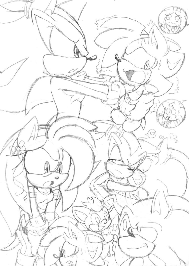 Sonic Doodlezzz : 41 by Narcotize-Nagini