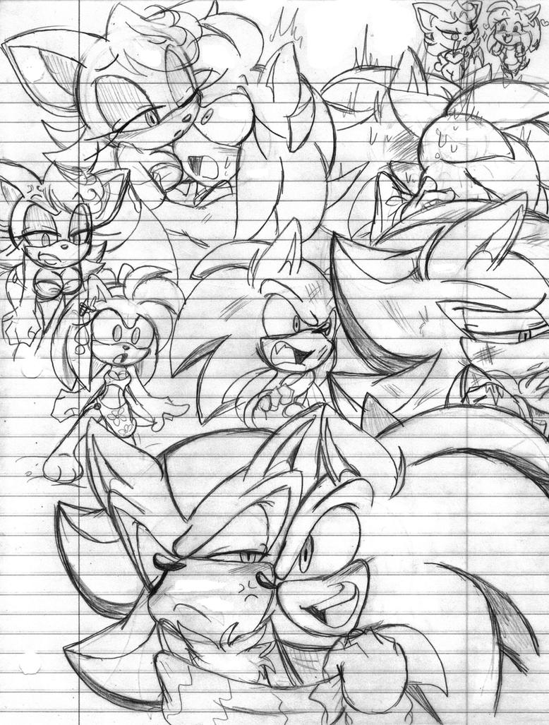 My School Sketches: 2 by Narcotize-Nagini