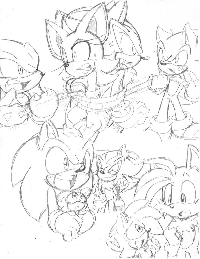 Sonic Doodlezzz : 52 by Narcotize-Nagini