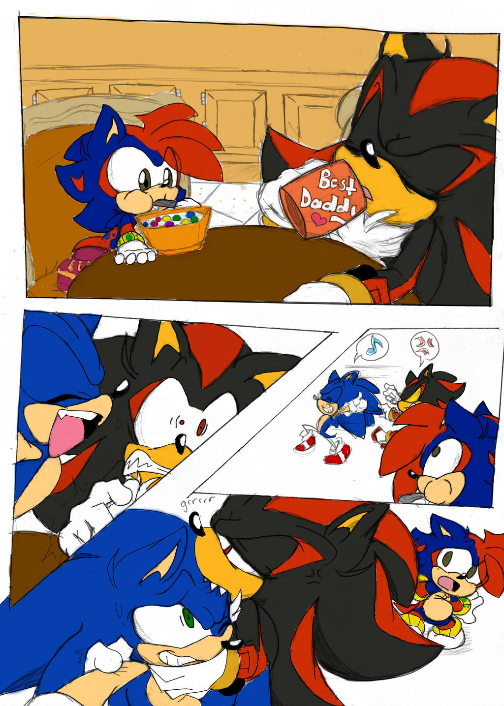 Shadow X Sonic Mpreg Usual Mornings ...