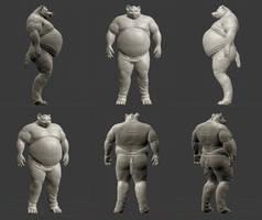 Lablo Hyaena 3D complete
