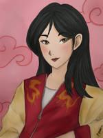 Mulan(sign)  by Annaella