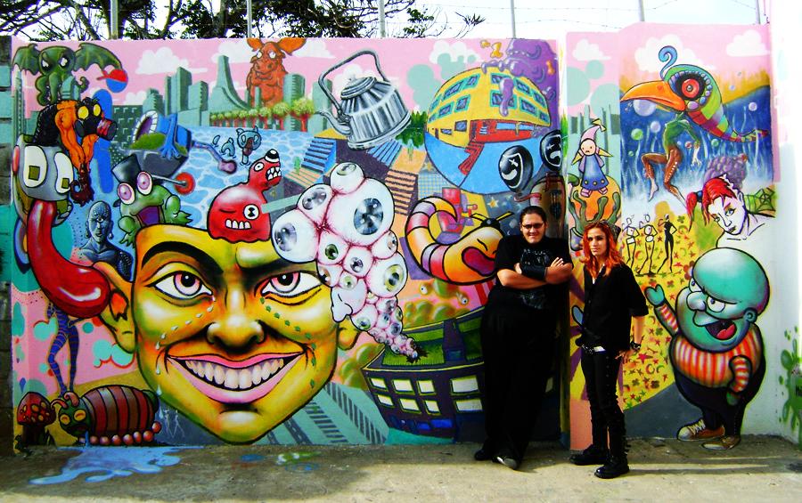 Mural Creativa Autores by El-Shogun