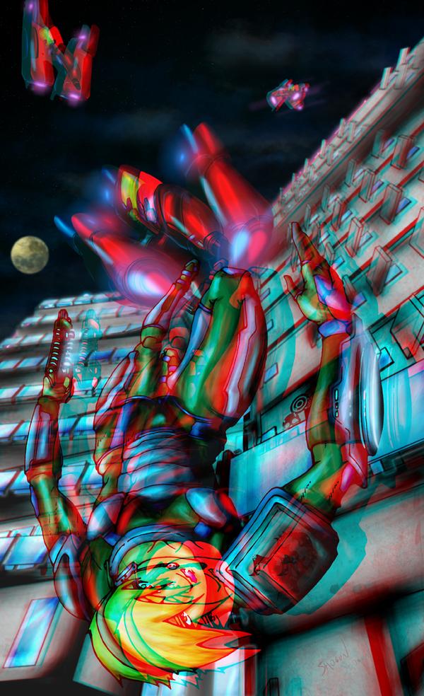 Falling Down Chase 3d by El-Shogun