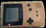Pokemon Yellow on Yellow Game-Boy Color