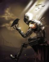 Depressing Robot YAY by Fishmas