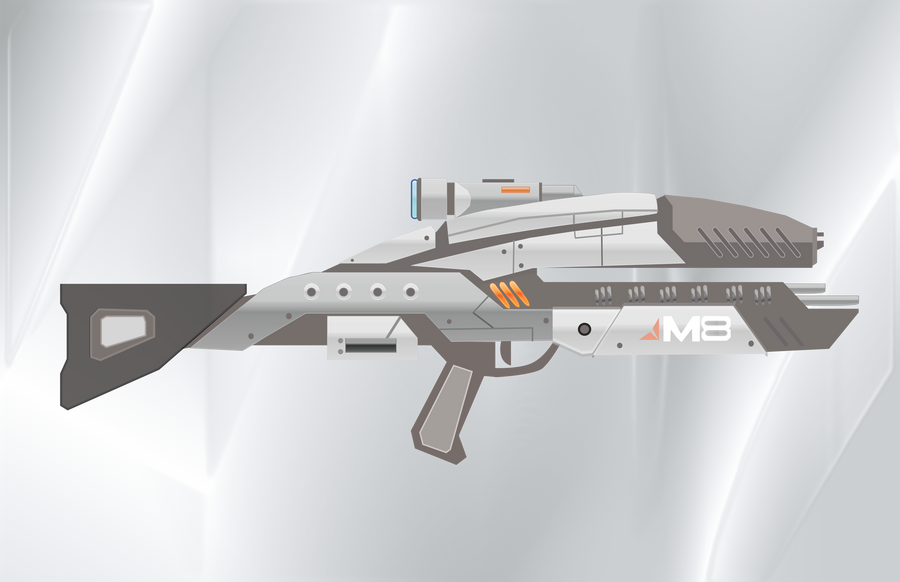 Mass Effect Assault Rifle by Fishmas