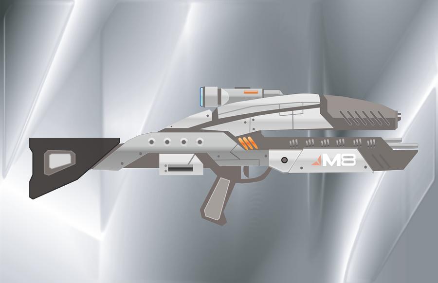 Mass Effect Assault Rifle by Fishmas