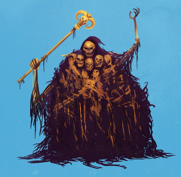 Gravelord Skeletor by Fishmas
