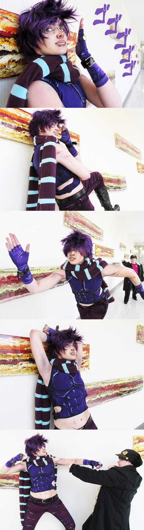 Joseph Joestar Cosplay P1 by Fishmas