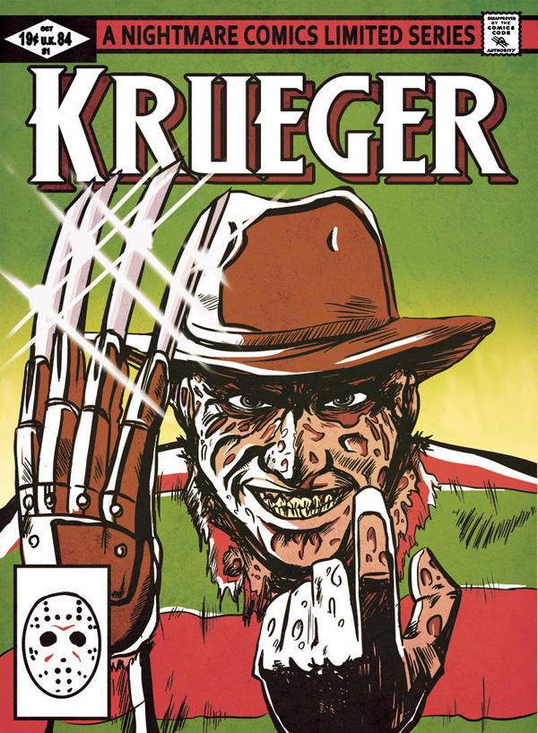 Kreuger Comics by Fishmas