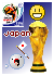 FIFA 2010 Japan Sticker by Snowshi