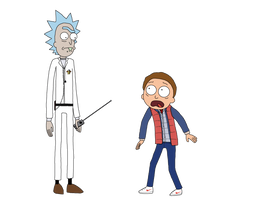 Dimension AR-85: Rick to the Future by The-Artist-64