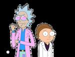 Dimension V-984: Miami Rick and Morty