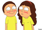 Morty and Morticia