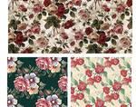 Stock pattern flowers