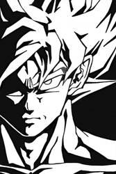 DragonBall - Wrath in his eyes