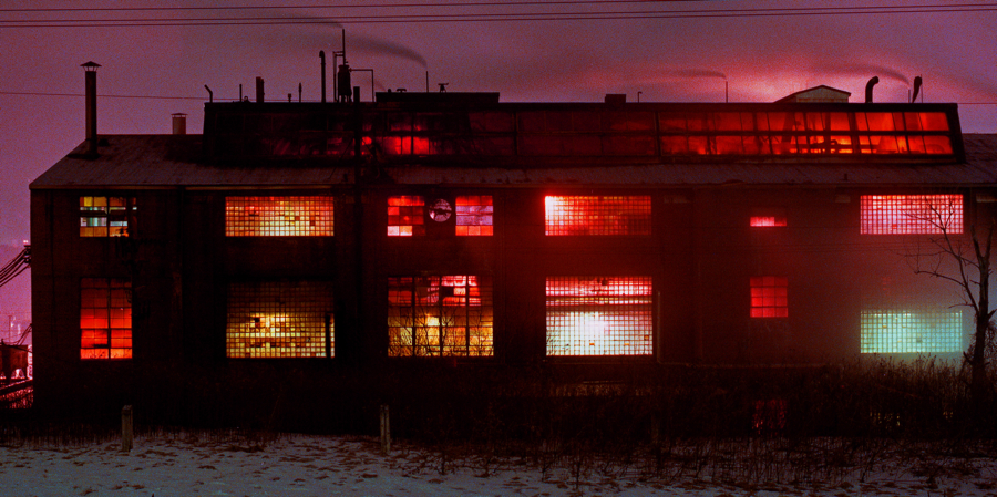 24 hour factory, at dusk.img663 1 1 1 by harrietsfriend