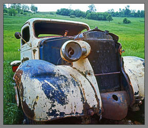 Old truck. img268, with story by harrietsfriend