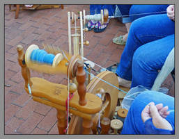 Spinning, close up. L1050037, with story, a series