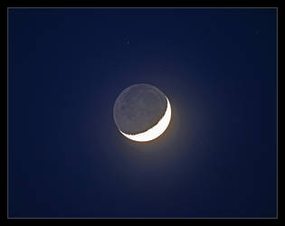 Crescent Moon. 800-3357, with story by harrietsfriend