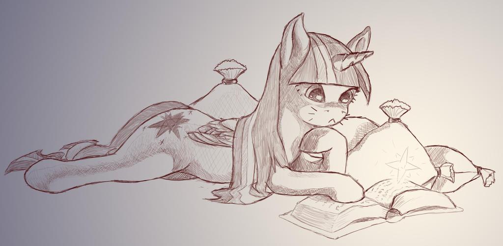Twilight's late study by Braukoly
