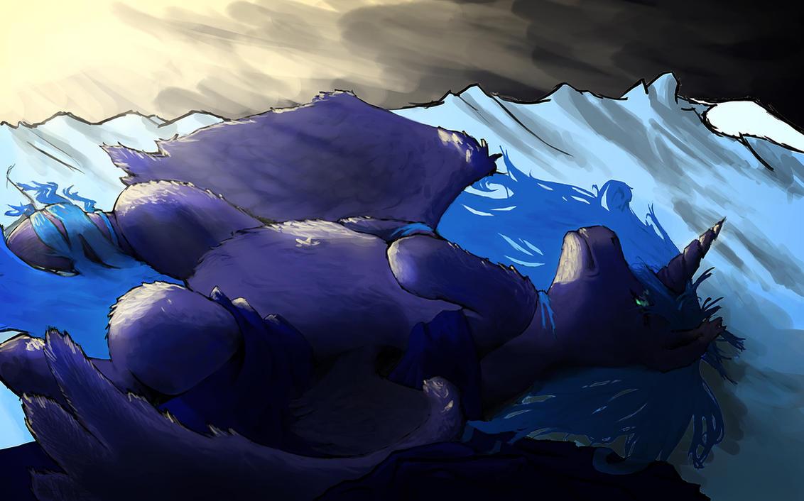 Sleepy Luna by Braukoly