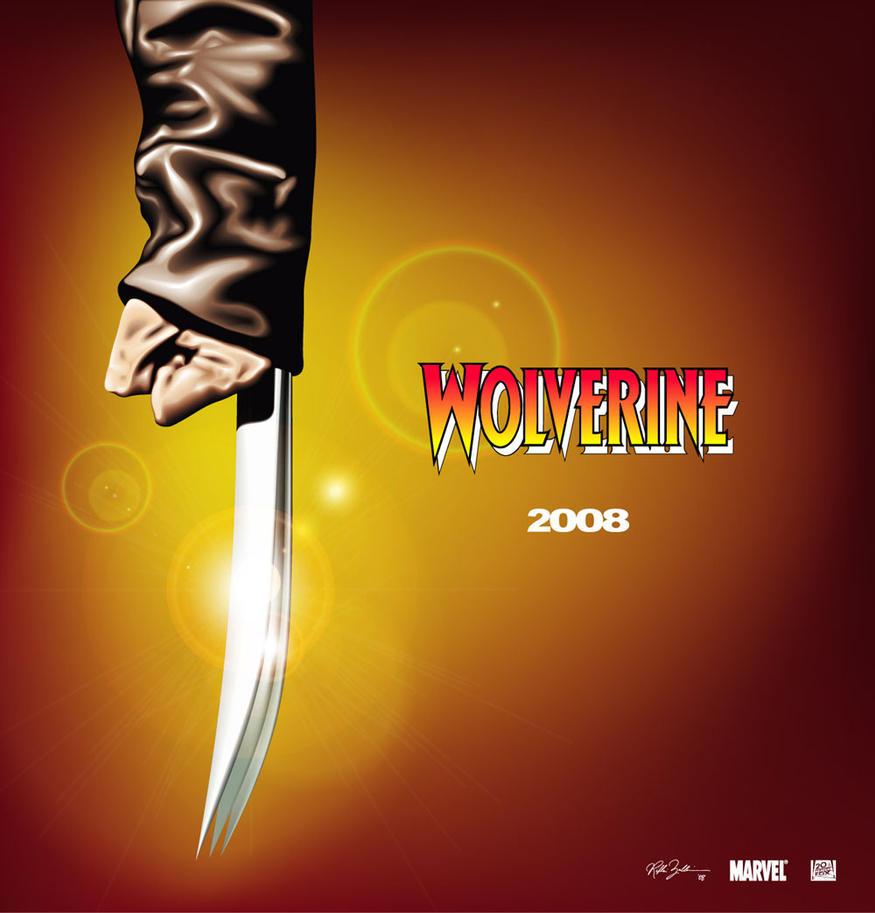 Wolverine teaser poster by friki-dayz