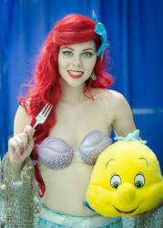 Ariel Cosplay by Reactuate
