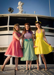 50s Princesses by Reactuate