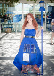 Cool TARDIS dress and light