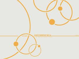 Orange Circles by Yomon