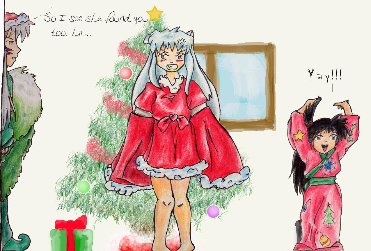 Inuyasha Christmas by orderly-chaos on DeviantArt
