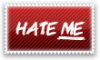Hate me Stamp by Kyoakuno