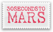30 Seconds To Mars Stamp by Kyoakuno