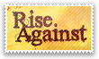 Rise Against Stamp