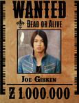 Gokai Blue Wanted Poster