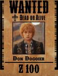 Gokai Green Wanted Poster